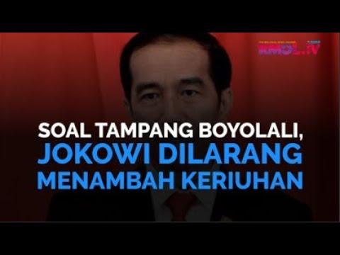 Soal Tampang Boyolali, Jokowi Dilarang Menambah Keriuhan