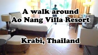 Ao Nang Villa Resort Beach Hotel In Krabi Thailand The Rooms Pools And Spa And Massage Centre.