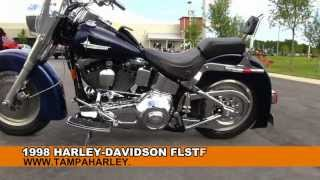 9. Used 1998 Harley Davidson FLSTF FatBoy Motorcycle For Sale Review Price