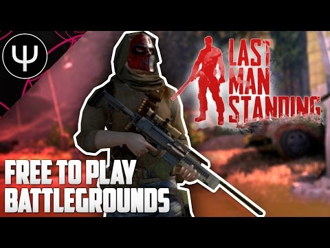 Last Man Standing — Free To Play PLAYERUNKNOWN'S BATTLEGROUNDS!
