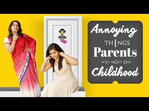 Things Our Parents say about our Childhood || DJ Women