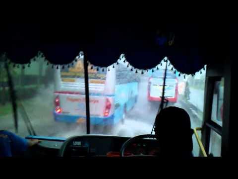 Konvoi Trio Sugeng Rahayu Membelah Banjir (Tetep Ngeblong)