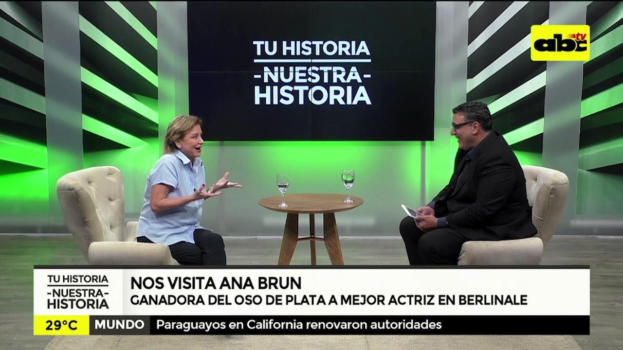 Entrevista con la actriz Ana Brun