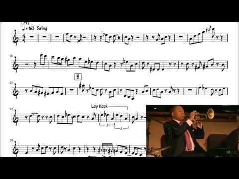Portrait of Louis Armstrong - Wynton Marsalis Solo Transcription