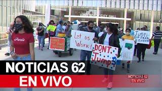 Protesta por ataque a vendedor ambulante en Long Beach – Noticias 62 - Thumbnail