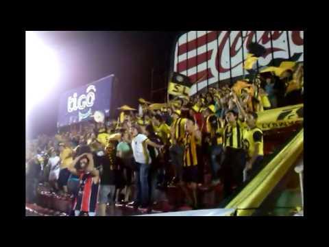 LA RAZA AURINEGRA alentando contra Olimpia [HD] - La Raza Aurinegra - Guaraní de Asunción