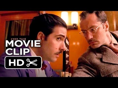 The Grand Budapest Hotel Movie CLIP - Don't You Know (2014) - Jude Law, Jason Schwartzman Movie HD