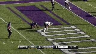 2013 Michigan State at Northwestern Football Highlights