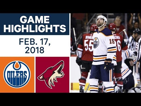 Video: NHL Game Highlights | Oilers vs. Coyotes - Feb. 17, 2018