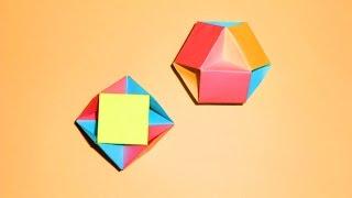Оригами шар из бумаги Игрушки из бумаги