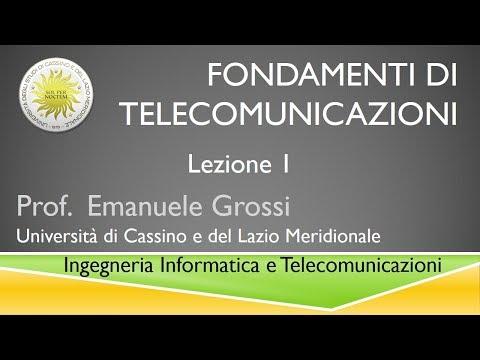 Fondamenti di telecomunicazioni Lezione1