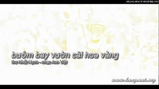 Bướm Bay Vườn Cải Hoa Vàng - Nhạc Anh Việt