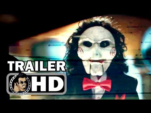JIGSAW: SAW 8 Official Trailer #1 (2017) Laura Vandervoort Horror Movie HD (видео)