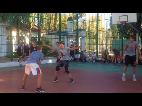 Стритбол Ривьера 11.08.2018 Саша Артур Рома (Видео 1) - DomaVideo.Ru