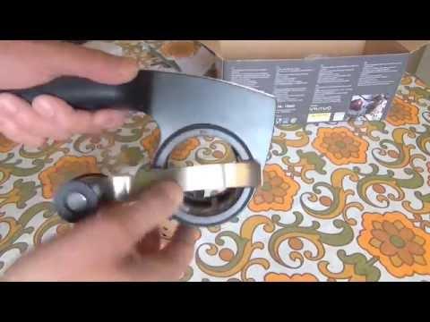 Test- Funktionsprüfung GEFU Trommelreibe PECORINO LASER CUT mit 2 Trommeleinsätzen drum grater