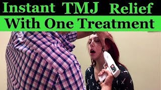 Video Awesome TMJ Adjustment with immediate relief! MP3, 3GP, MP4, WEBM, AVI, FLV Juni 2019