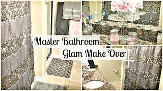 Master Bathroom Makeover   DOLLAR TREE DIY & GLAM Upgrade Tour