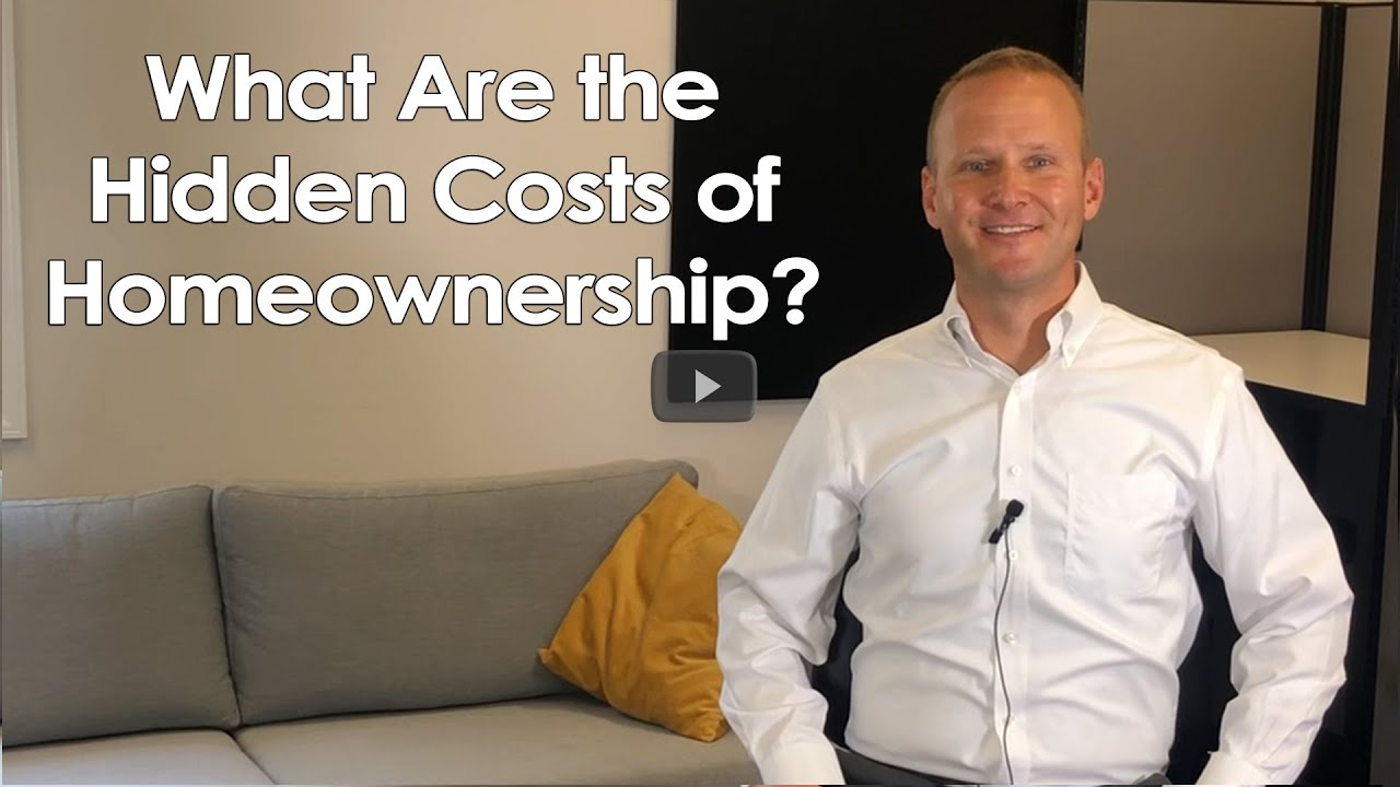What Are the Hidden Costs of Homeownership?