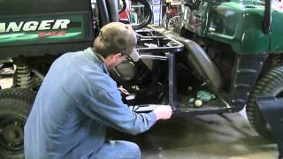 7. Polaris Ranger 500 Gas Tank Removal & Cleaning