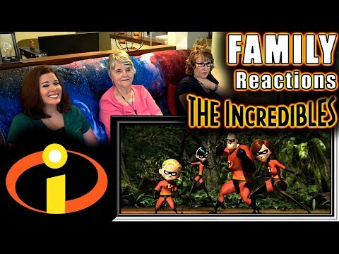 The Incredibles | FAMILY Reactions | Fair Use