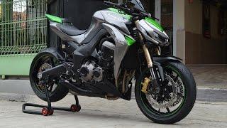 7. Kawasaki Z1000 Sugomi ABS 2014 99% SOUND(istimewa)