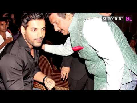 When John Abraham went back to college