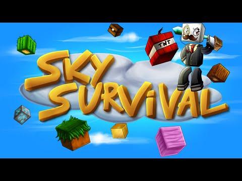 ADALARI FETHEDİN!! Minecraft Sky Survival Bölüm 2