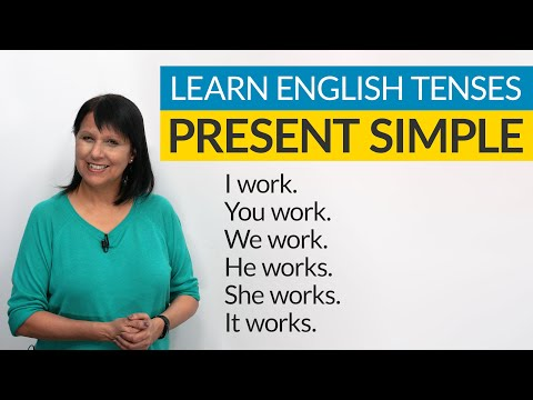 Learn English Tenses: PRESENT SIMPLE