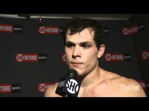 Roger Gracie Post Fight Interview vs Trevor Prangley