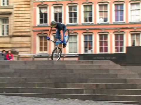 Bicycle - Filmed over the period of a few months in and around Edinburgh by Dave Sowerby, this video of Inspired Bicycles team rider Danny MacAskill (more info at www....
