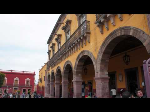 San Miguel de Allende, Mexico, flamenco guitar music by Andrei Krylov