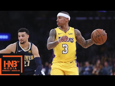 Los Angeles Lakers vs Denver Nuggets Full Game Highlights / March 13 / 2017-18 NBA Season (видео)