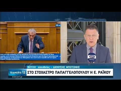 Καταθέτει για δεύτερη ημέρα ο Δ. Παπαγγελόπουλος | 18/06/2020 | ΕΡΤ