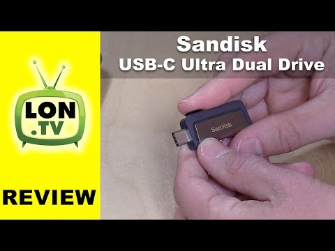 SanDisk Ultra Dual Drive USB 3.0 and USB-C Flash Drive Review