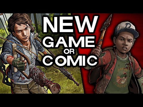 NEW CLEMENTINE GAME CONFIRMED BY ROBERT KIRKMAN? OR COMIC? The Walking Dead Game Season 5 Teaser?