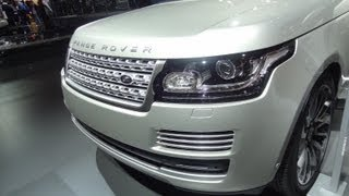 2014 Range Rover - Interior&Exterior - The Driver