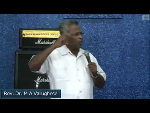 Water Baptism - Message by Rev. Dr. M A Varughese,  Bethel AG Church Bangalore