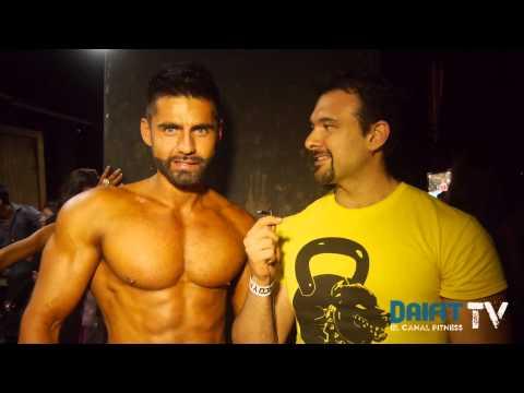 Alexander Herrera Ganador Absoluto Galan Físico y Fitness- Musclemania Latino 2013