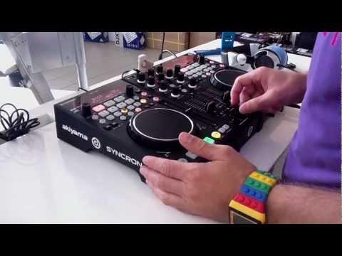Akiyama Syncron review dj controller mixer media player DJmarket.gr