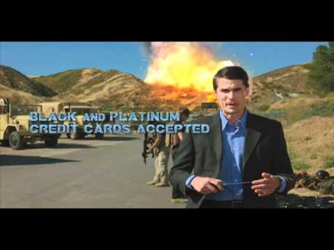 """Soldiers of Fortune 2012 - Shawn Parsons as """"The Pitchman"""""""