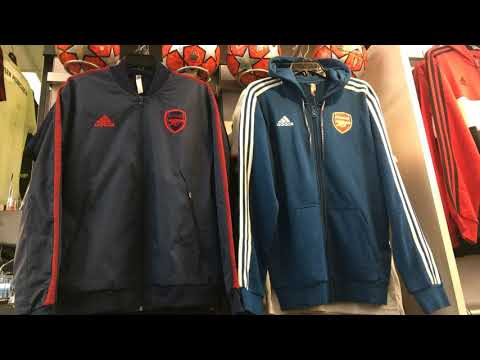 Arsenal Adidas Jacket & Hoodie 2019 2020 Latest Arrival At Vancouver Soccer Store NAS