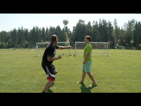 Soccer Goalie Shows Boxer How To Punch Away A Ball, World Record Ensues