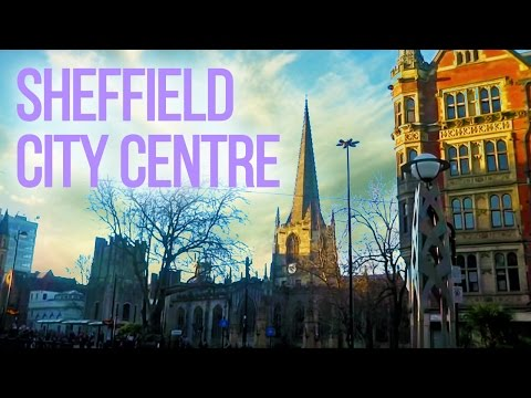 The UK Today - Walking Around Sheffield City Centre...South Yorkshire,England