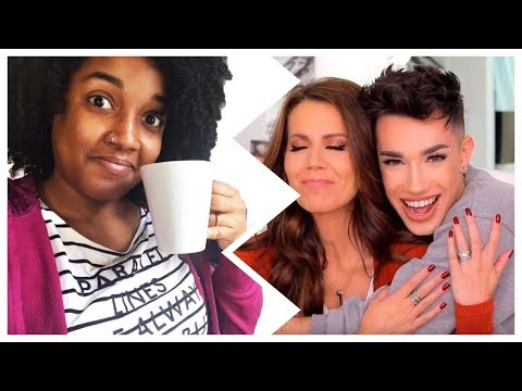 EL ULTIMO CHISME DE YOUTUBE !!⚡ |TATI Vs JAMES CHARLES 😱 ♡ | Andreina Cristal