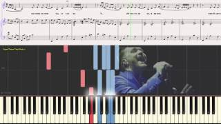 Снег - Панайотов Александр (Ноты и Видеоурок для фортепиано) (piano cover)