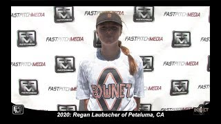 2020 Regan Laubscher Outfield Softball Skills Video