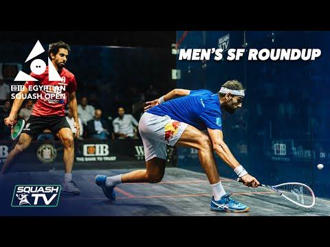 Squash: CIB Egyptian Open 2021 - Men's Semi Finals Roundup