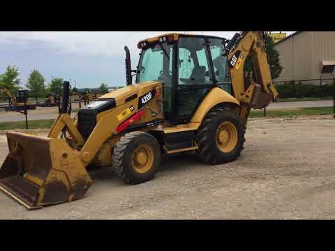 CATERPILLAR BACKHOE LOADERS 420FST equipment video Z1MPuAdJId4