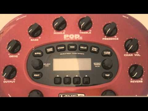 POD XT: Ebony Ark cover - Thorn of Ice (5150 sim + behringer ultragain)