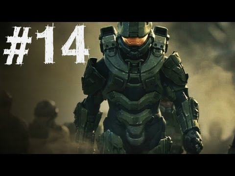 Halo 4 Gameplay Walkthrough Part 14 - Campaign Mission 6 - Shutdown (H4) (видео)
